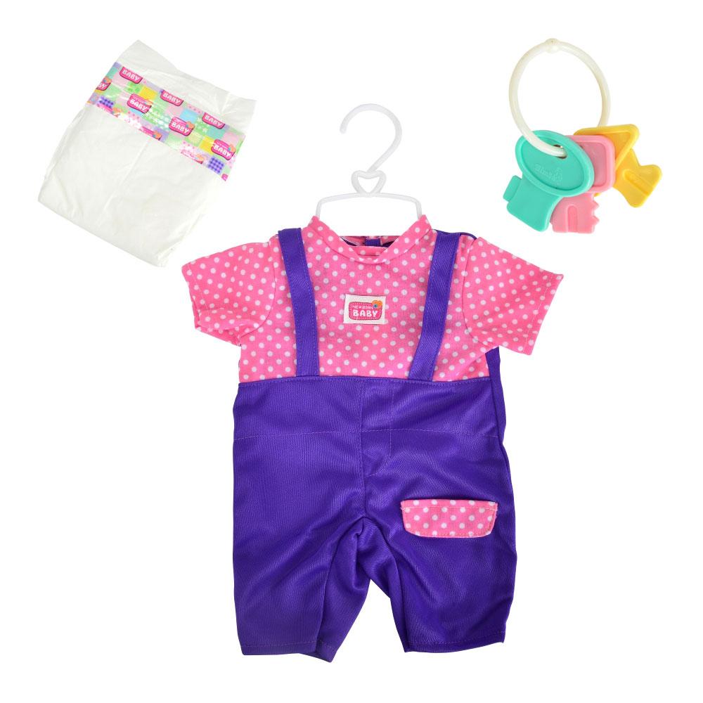 Купить Куклы, наборы для кукол, Набор одежды Simba Комбинезон с розовыми штанишками 38-43 см (5401631-4)