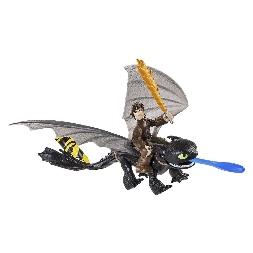 Купить Игровые наборы, Набор игрушек Dragons Иккинг и Беззубик (SM66594-7), Spin Master