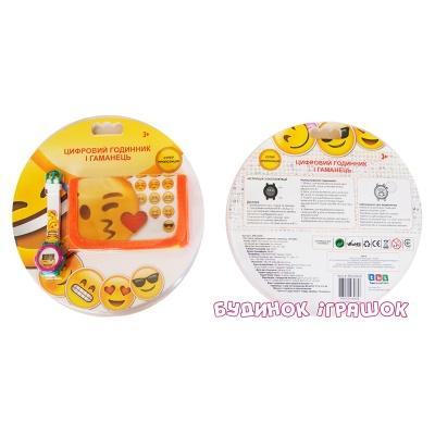 Ігровий набір TBL Цифровий годинник з гаманцем Emojis (EMJ30658) - купити в  магазині дитячих іграшок  Будинок іграшок  5ecd1eeb6eb3d