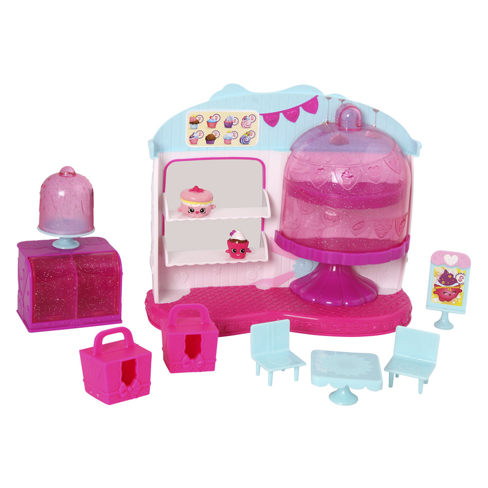 Купить Игровые наборы, Игровой набор Королевское Капкейк-кафе Shopkins S4 (56081)