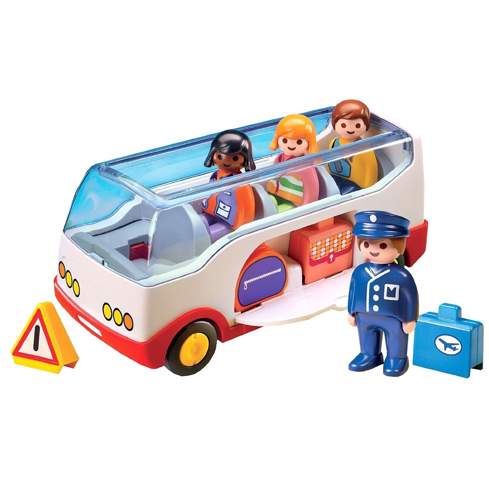 Конструктор Автобус-шаттл с пассажирами PLAYMOBIL (4008789067739)