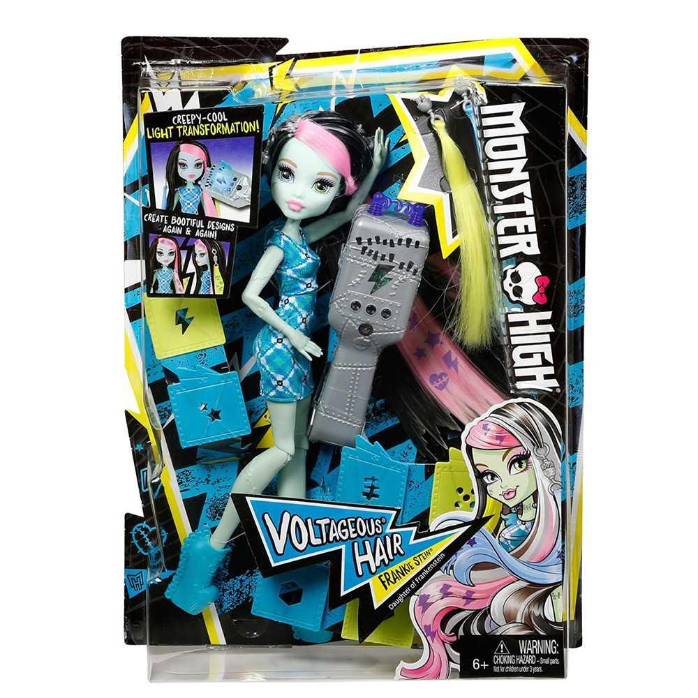Модельні ляльки - Ігровий набір Салон стильних зачісок Френкі Monster High  (DNX36) 317ffe80fa2c5