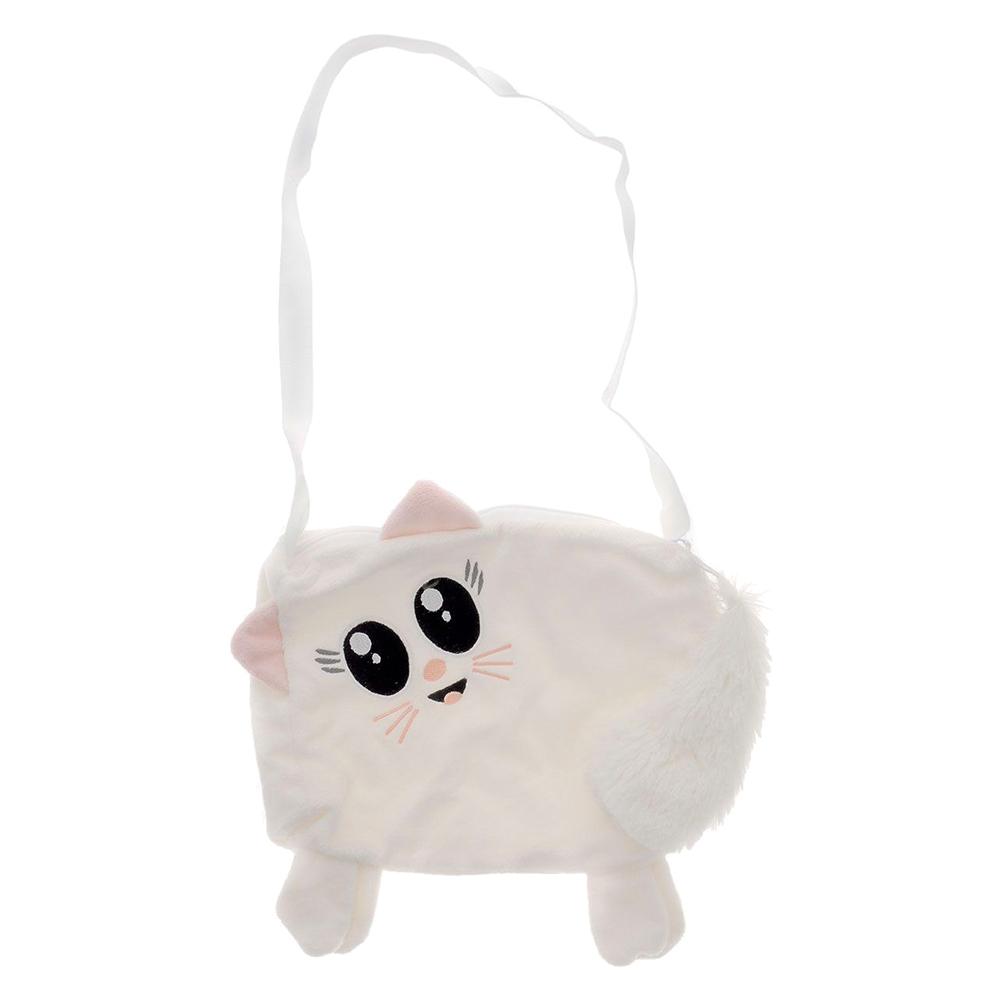 Сумочка Fancy дитяча Біла кішечка (SM01) - купити в магазині дитячих ... 63af3ca4f84ec