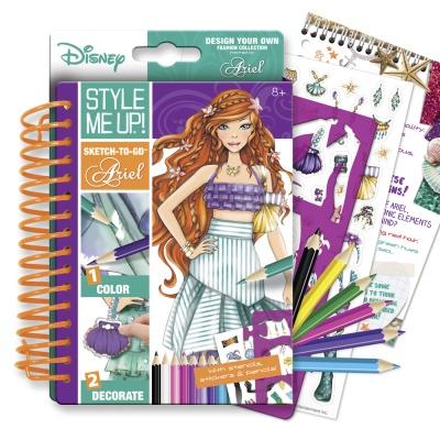 Набор для творчества Альбом для творчества Мода с Ариэль Wooky Style Me Up  (02091) - купить в магазине детских игрушек  Будинок іграшок  7cd76e33464