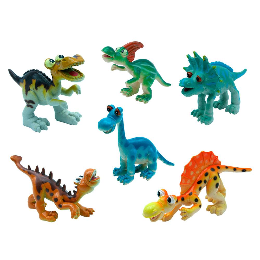 Купить Персонажи мультфильмов, игровые фигурки, Набор фигурок Динозавры BABY TEAM (8832)