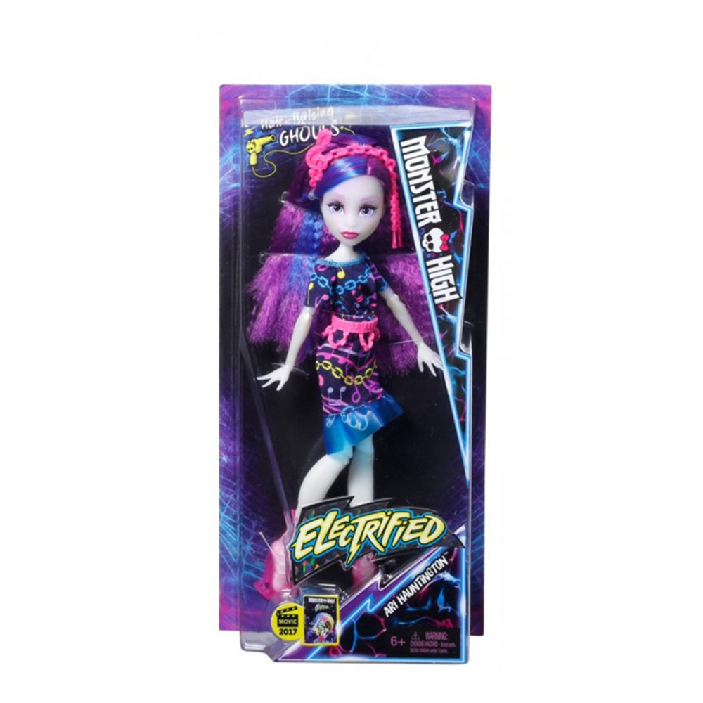 Модельні ляльки - Лялька Електромодніца з мультфільму Під напругою Monster  High Арі Прівідсон (DVH65   c88c303b6c9b1