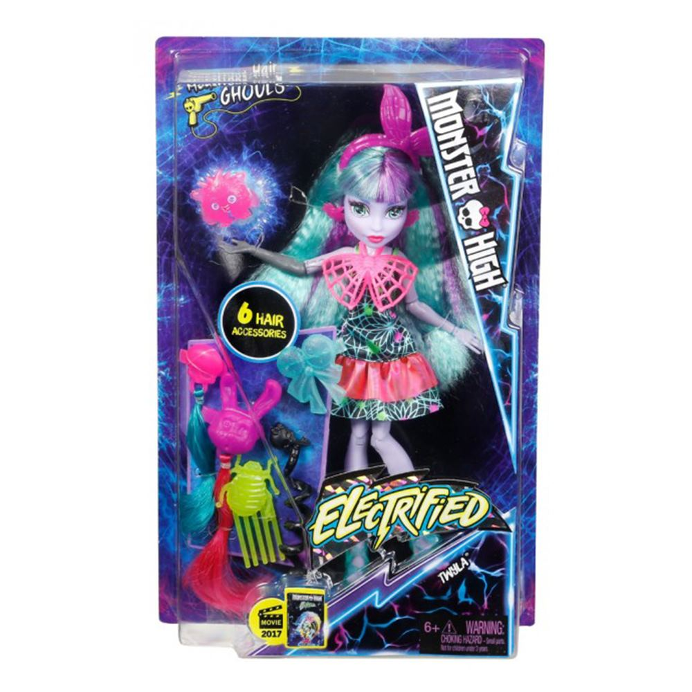 Модельні ляльки - Лялька Електричне перевтілення Monster High Твайла (DVH69    DVH71) 9ac58b8a66010