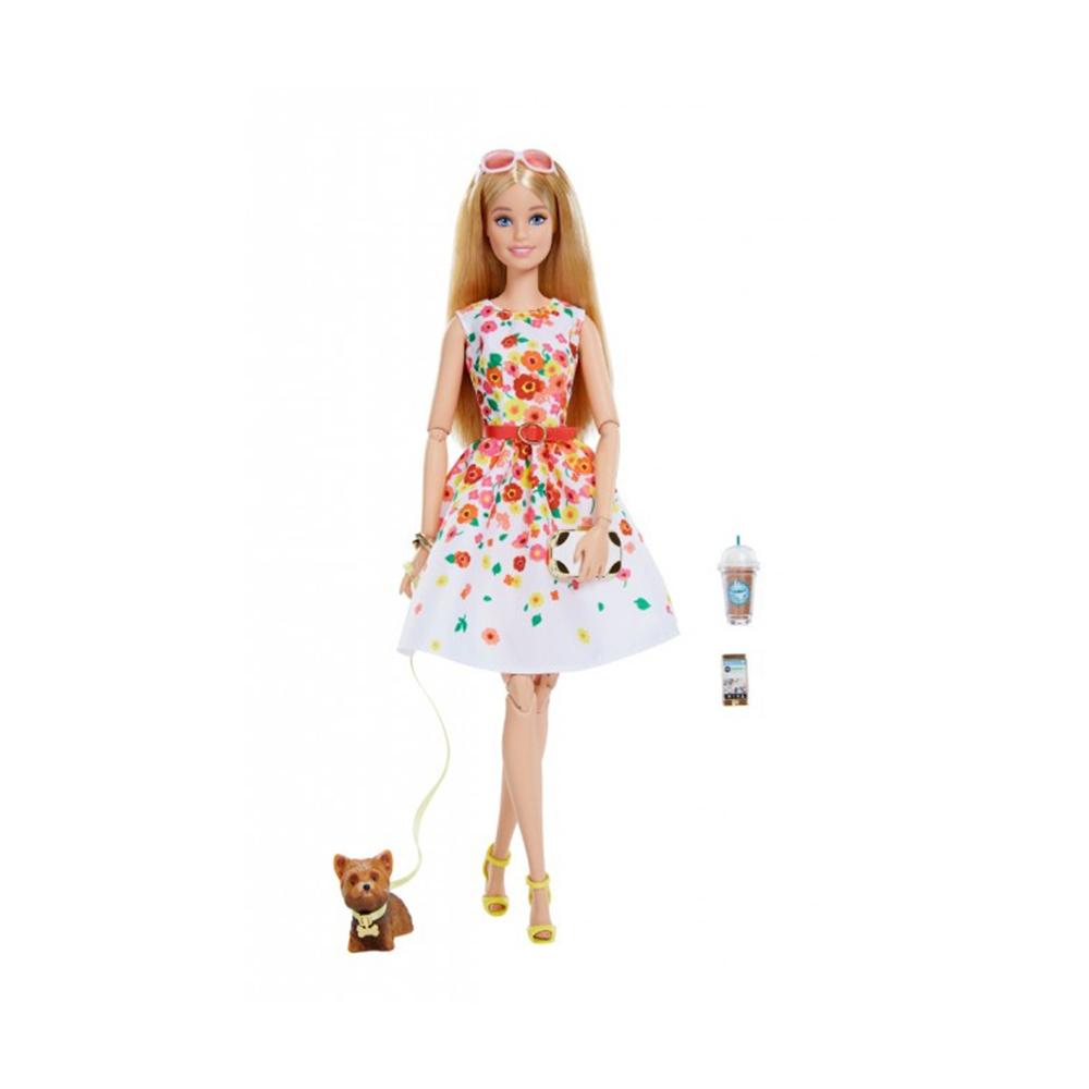 765ffb10e6d0 Коллекционная кукла Barbie Высокая мода Платье с цветочным принтом  (DVP54 DVP55) - купить в магазине детских игрушек  Будинок іграшок