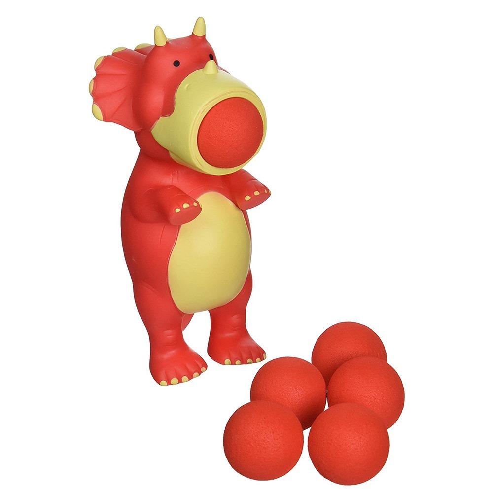 Купить Персонажи мультфильмов, игровые фигурки, Игровая фигурка Стреляющей звере. Дино Squeeze Popper (54361)