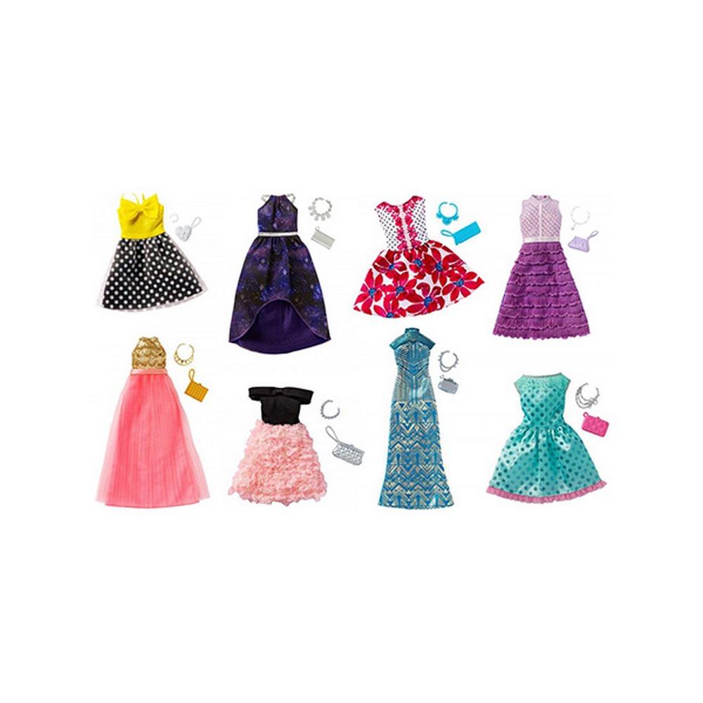 eedac164614151 Одяг та аксесуари для ляльок - Набір одягу для всіх типів фігур Barbie в  асортименті (