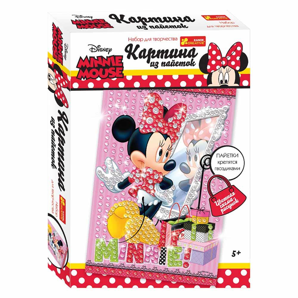 Картинки з паєток Дісней Міні Маус Ranok Creative Рожева (15173018Р) -  купити в магазині дитячих іграшок  Будинок іграшок  63b27b4f451c9