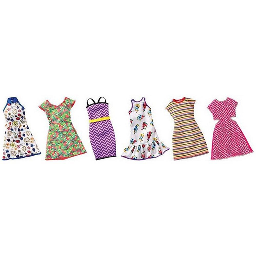 b81523e9eda423 Одяг та аксесуари для ляльок - Одяг Модне плаття Barbie в асортименті  (FCT12)