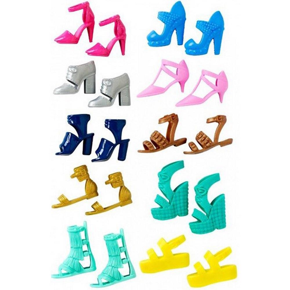 Одяг та аксесуари для ляльок - Аксесуари для ляльки Набір з 5-ти пар взуття 715f1f27bccac