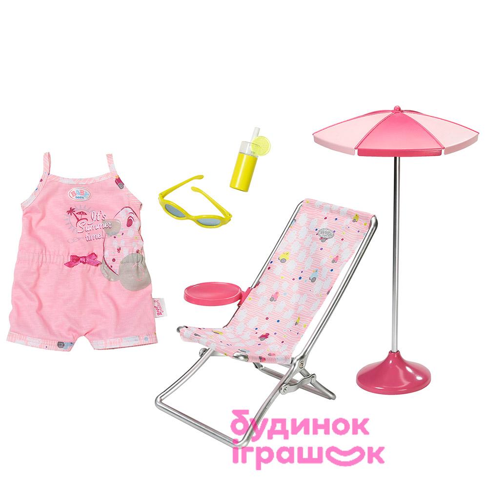 Одяг та аксесуари для пупсів - Ігровий набір для пупса Baby Born Літній  день Zapf Creation 2aa99cb717ed6
