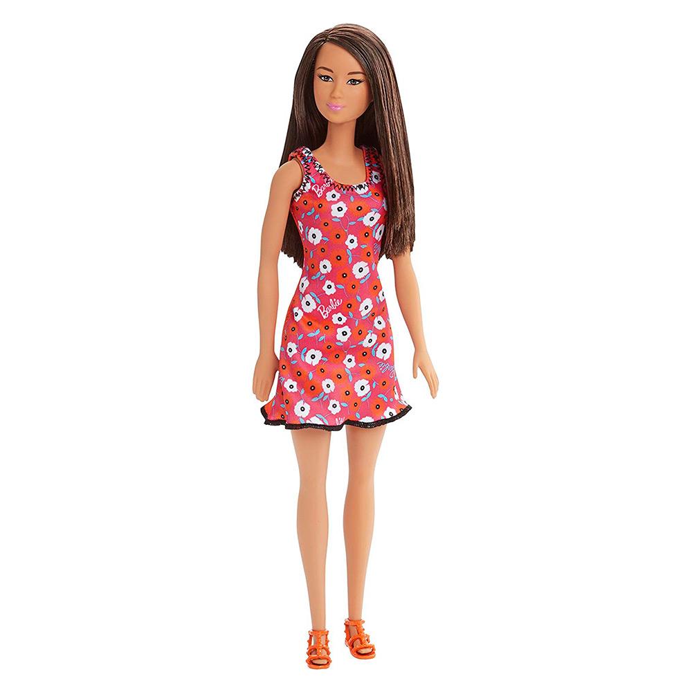 51b21318b3c90db Модная кукла в платье с азиатскими цветами Barbie Супер стиль (T7439/DVX90)  【 Будинок іграшок 】 купить в Киеве, Харькове, Одессе по низкой цене