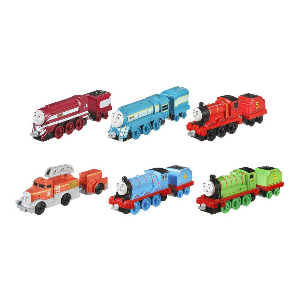 2201345cc760 Железные дороги и поезда - Игровой набор Паровозик с прицепом Thomas    Friends Adventures в ассортименте