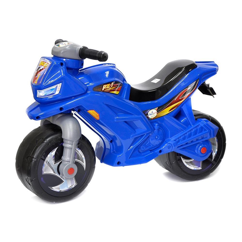 Толокар Orion Мотоцикл синий (501b)