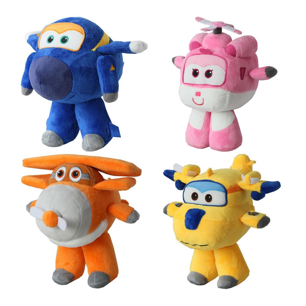 4be0a092591c Персонажи мультфильмов - Детская мягкая игрушка Aulde Super Wings Donnie 1,  Dizzy 2, Jerome