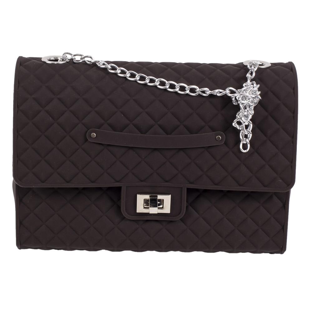 Рюкзаки и сумки - Сумка из силикона кросс-боди Tinto коричневая (67, 000 d14428a9c62
