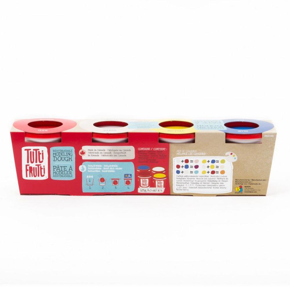 Купить Наборы для творчества и рукоделия, Мини набор для лепки 4 цвета Tutti Frutti (BJTT80100)