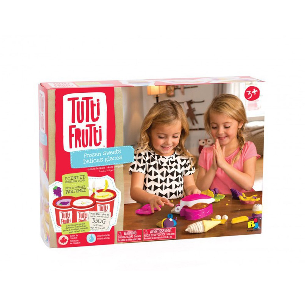 Купить Наборы для творчества и рукоделия, Мини набор для лепки Замороженные сладости Tutti Frutti (BJTT14861)