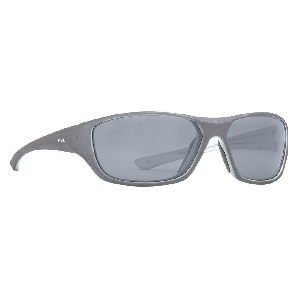 Солнцезащитные очки для детей INVU серые (K2512F)