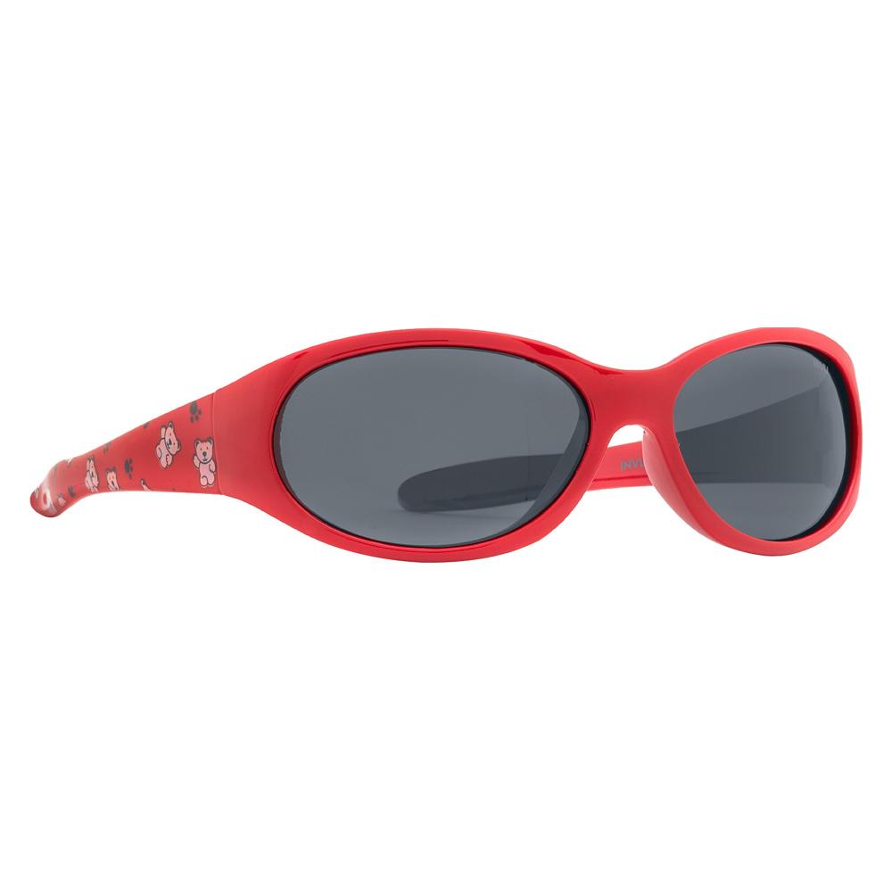 Солнцезащитные очки для детей INVU красные (K2701C)