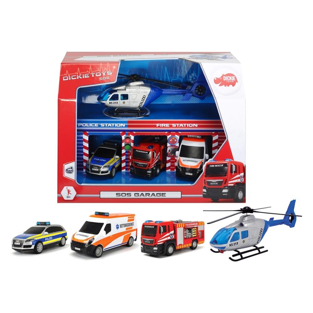 Набор игрушек Dickie Toys SOS Гараж (3715009)