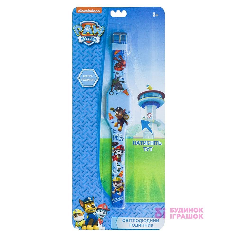 Годинник світлодіодний Щенячий патруль TBL сині (PWP32058) - купити в  магазині дитячих іграшок  Будинок іграшок  840dbb4df8372