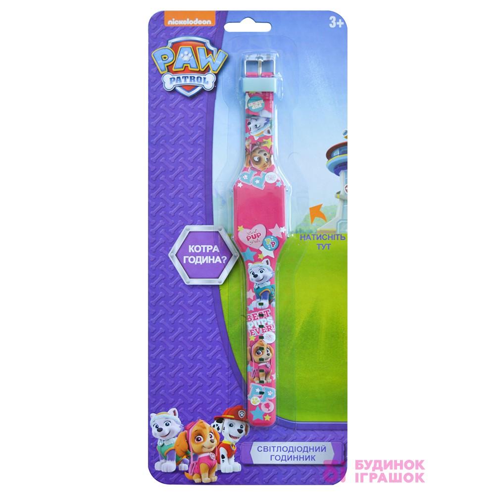 Годинник світлодіодний Щенячий патруль TBL рожеві (PWP32065) - купити в  магазині дитячих іграшок  Будинок іграшок  769ea4843ddec