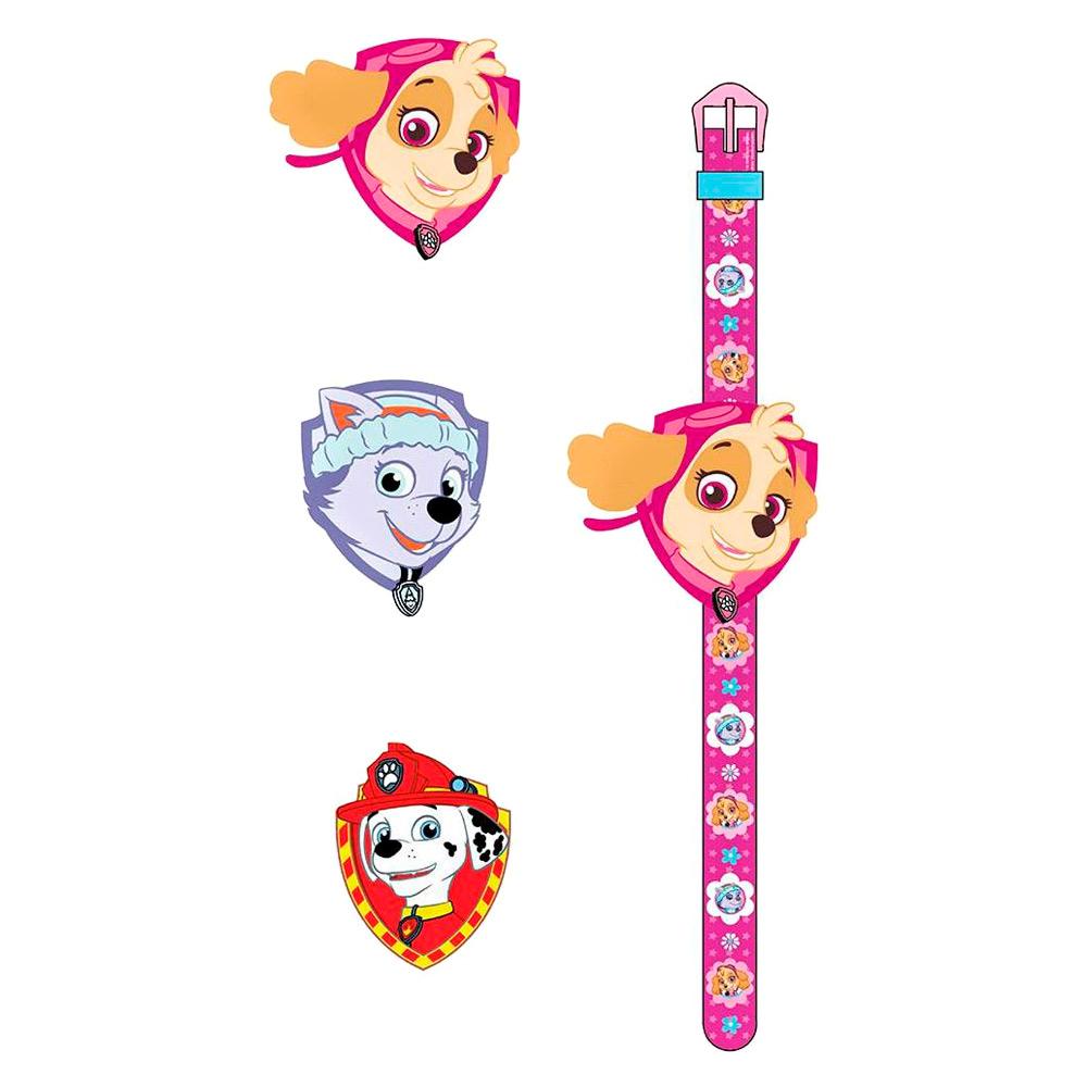 Цифровий годинник зі змінним дисплеєм Щенячий патруль TBL рожеві (PWP33659)  - купити в магазині дитячих іграшок  Будинок іграшок  662fa41193611