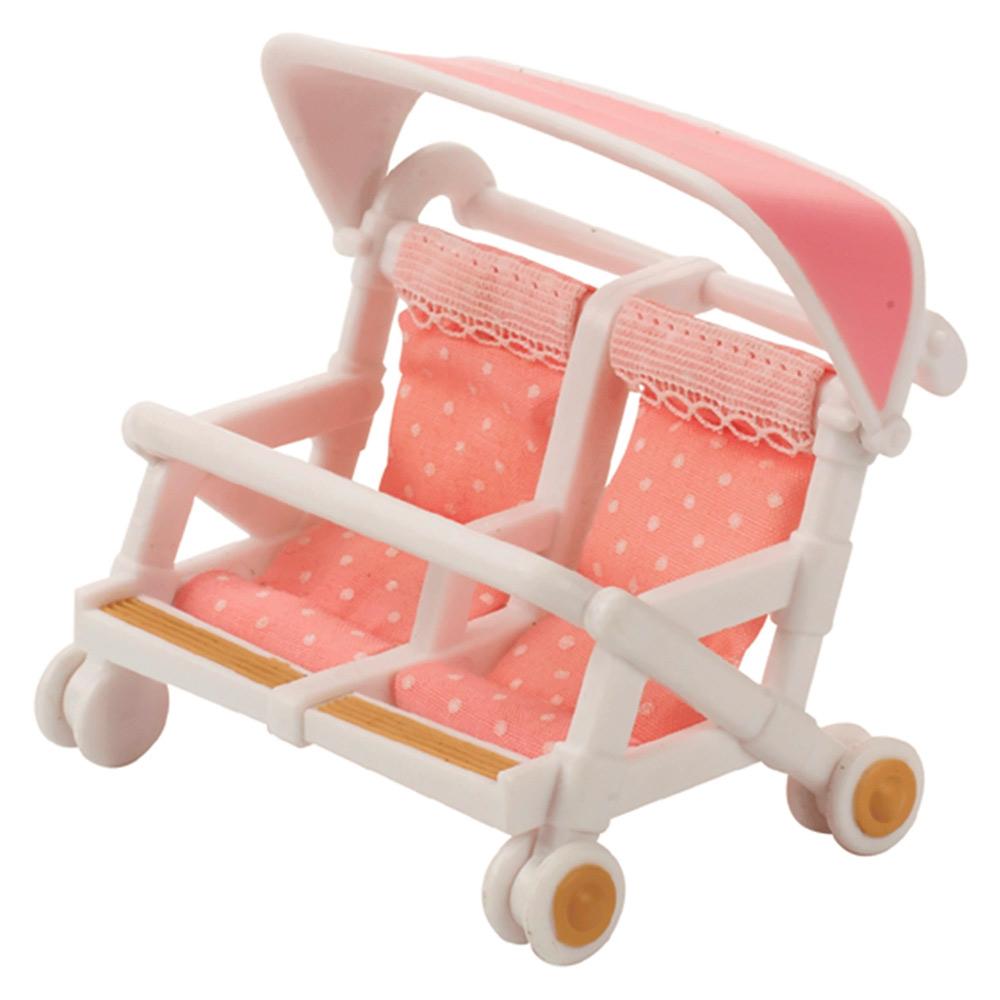 Игровой набор Детская коляска для двойни Sylvanian Families (4533)