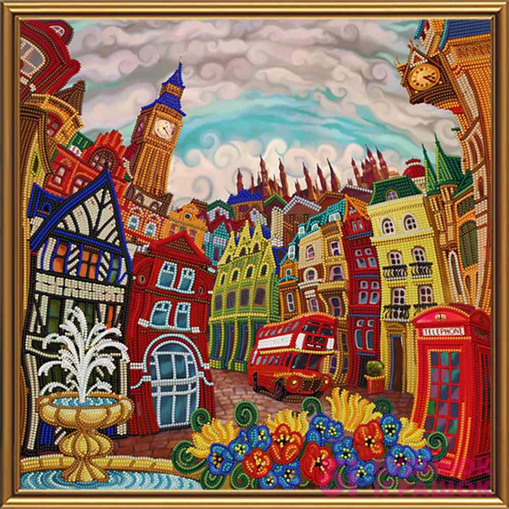 Набори для рукоділля - Набір для вишивки бісером Лондон Nova Sloboda  Задзеркаллі (ДК1082) 402a2100bcfd9