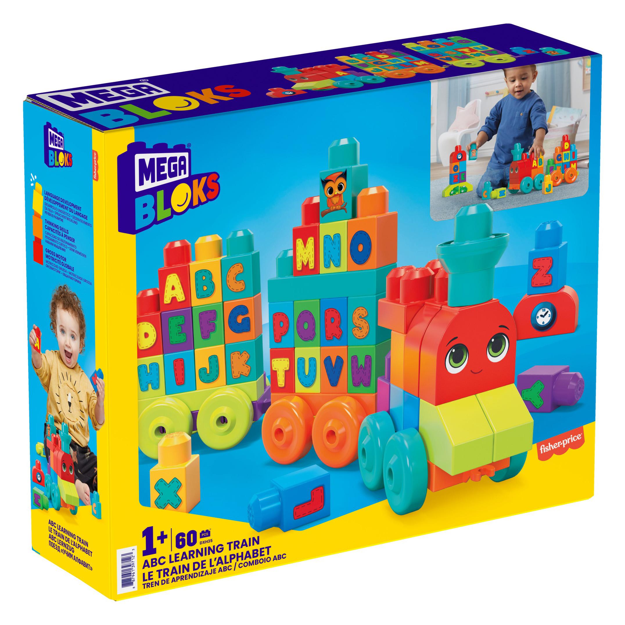 Конструктор Потяг з буквами Mega Bloks (DXH35) - купити в магазині дитячих  іграшок  Будинок іграшок  c00ca0035cc55