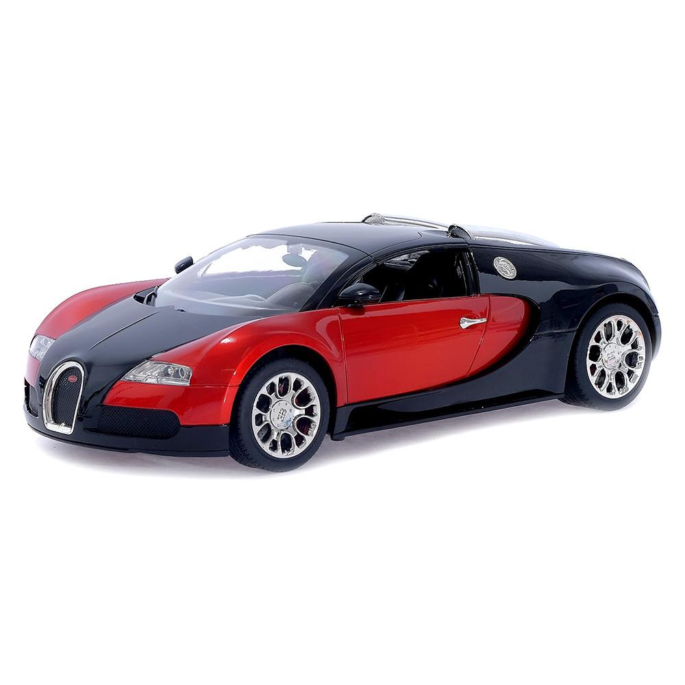 Купить Радиоуправляемые модели, игрушки, Машина на радиоуправлении Bugatti MZ красная 1:14 (2032/2032-1)
