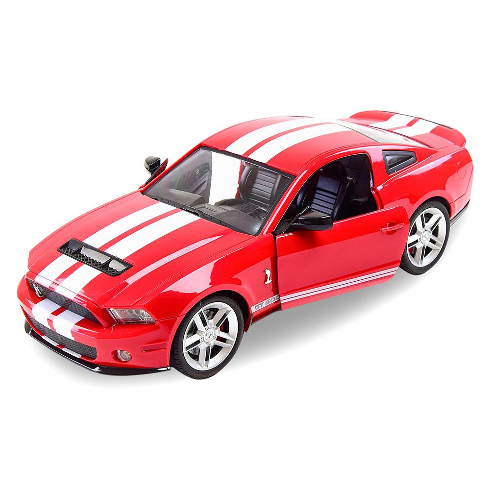 Автомодель MZ Ford Mustang GT500 на радиоуправлении 1:14 красная (2270J/2270J-1)
