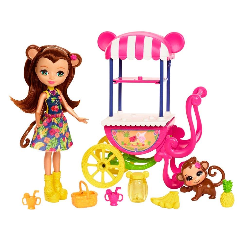Купить Игровые наборы, Игровой набор Фруктовая корзинка Enchantimals (FJH11/FCG93), Mattel