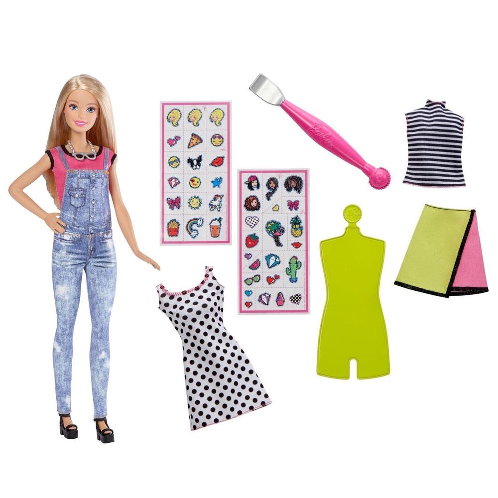bfd16d4625e Набор Emoji Style блондинка Barbie (DYN93) - купить в магазине ...