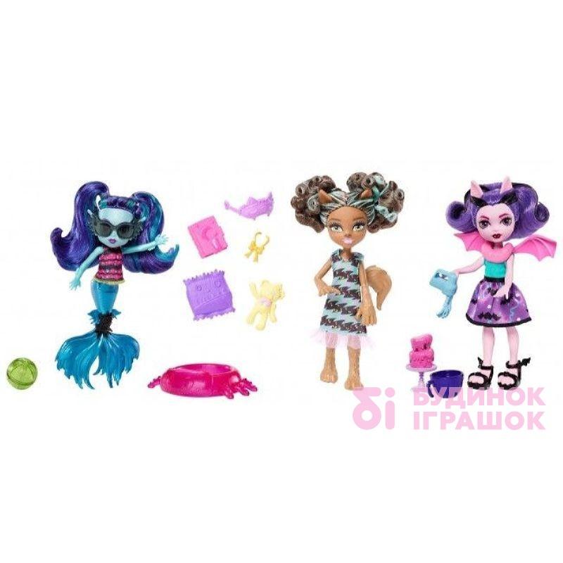 Модельні ляльки - Лялька Монстро-сестричка Monster High Монстро-сімейка 3  види в асортименті 4ed08e9e3c00f