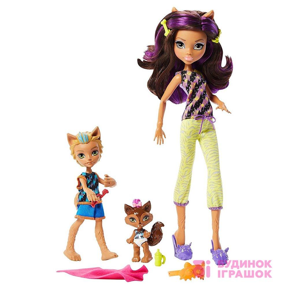 Модельні ляльки - Набір Monster High Monster Family Клодін ad9b391d81943