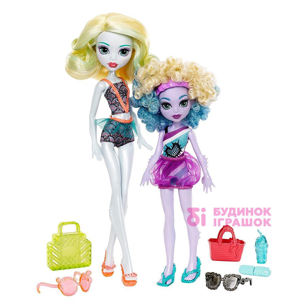 Модельні ляльки - Набір Monster High Monster Family Лагуна Блю і її сестра  Келпі Блю ( ad3ca6ba3a92f