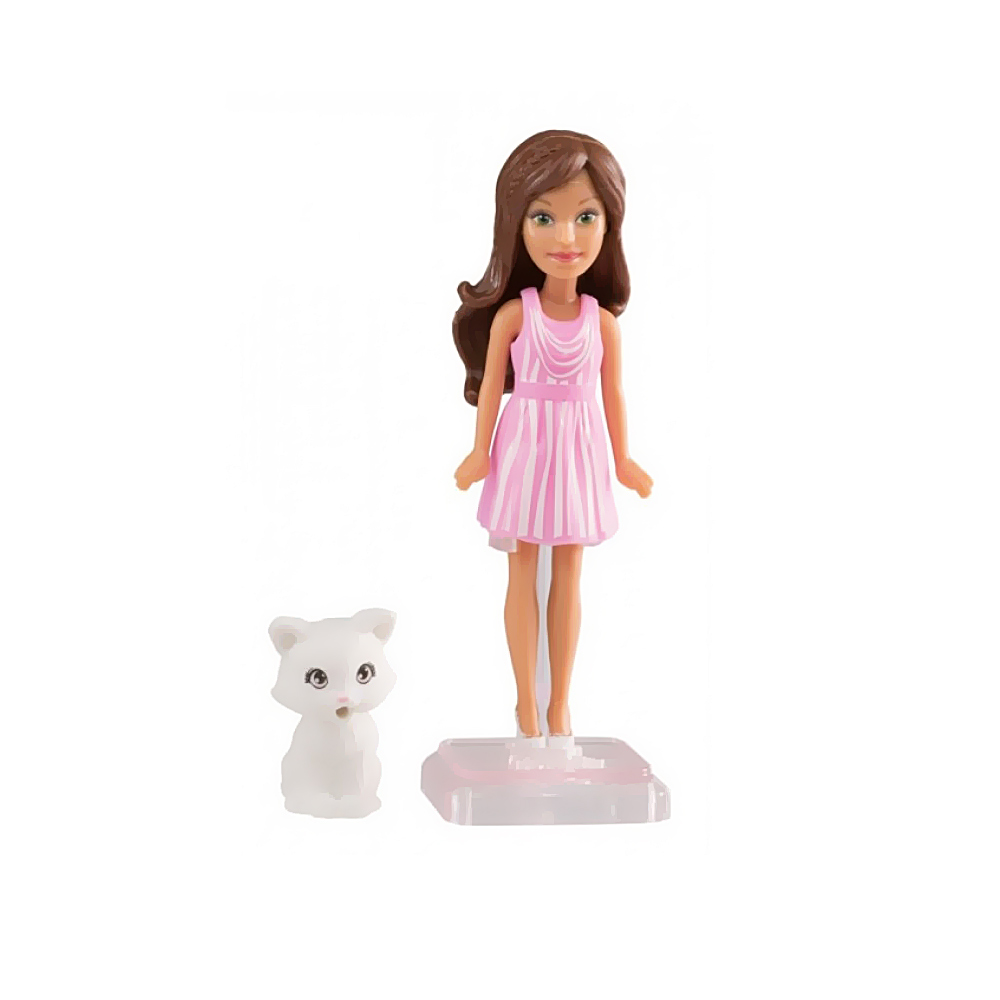 27e8f440f48 Маленькие куклы - Кукла маленького размера cat kitten Barbie Веселая игра  (DTW45 DVT63)