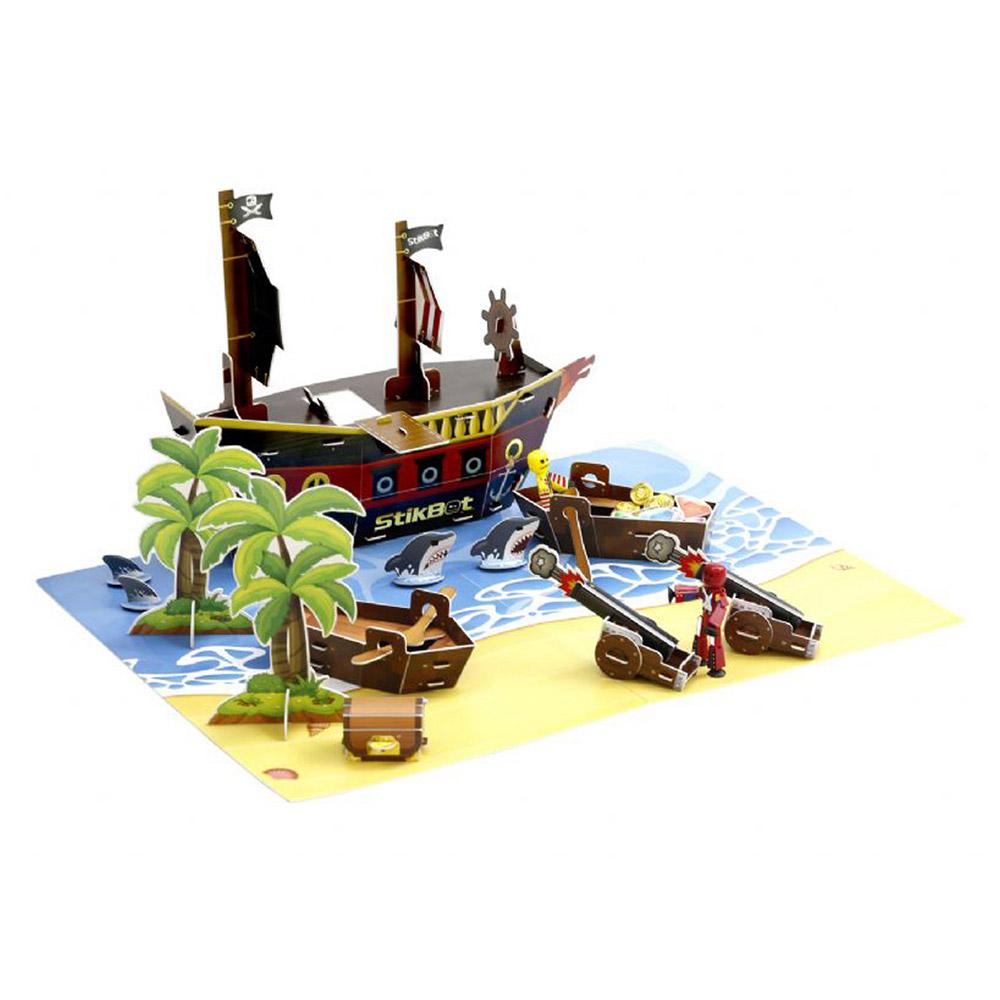 Купить Игровые наборы, Набор для анимации Stikbot Остров сокровищ (TST623P)
