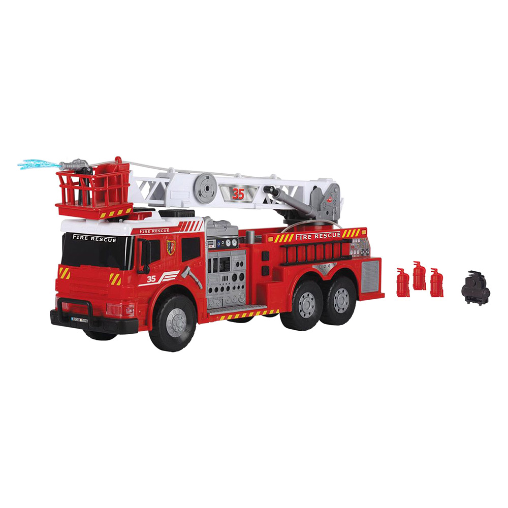 Купить Игрушечные машинки, техника, Функциональное авто Пожарная бригада со звуком и светом Dickie Toys 62 см (3719003)