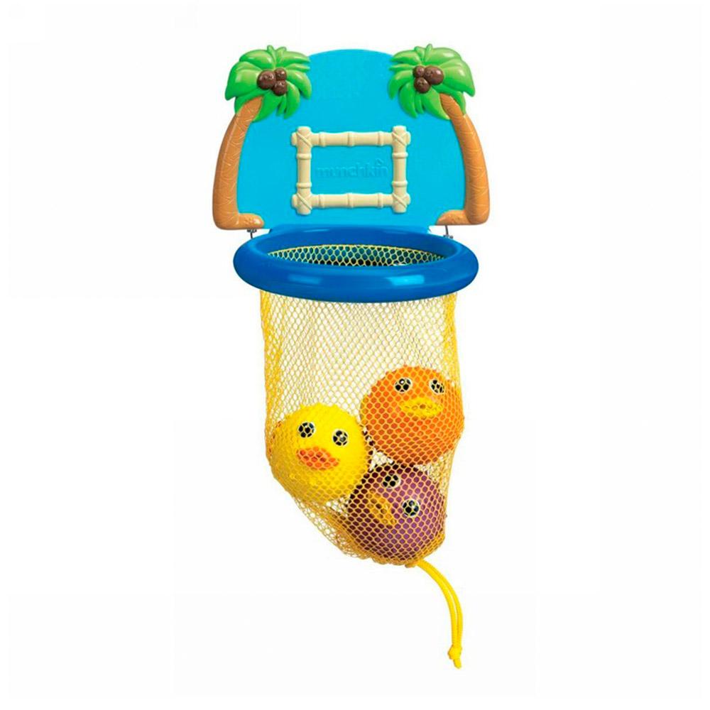 Купить Игрушки для самых маленьких, Игрушечный набор для ванны Баскетбол Munchkin (5019090111232)