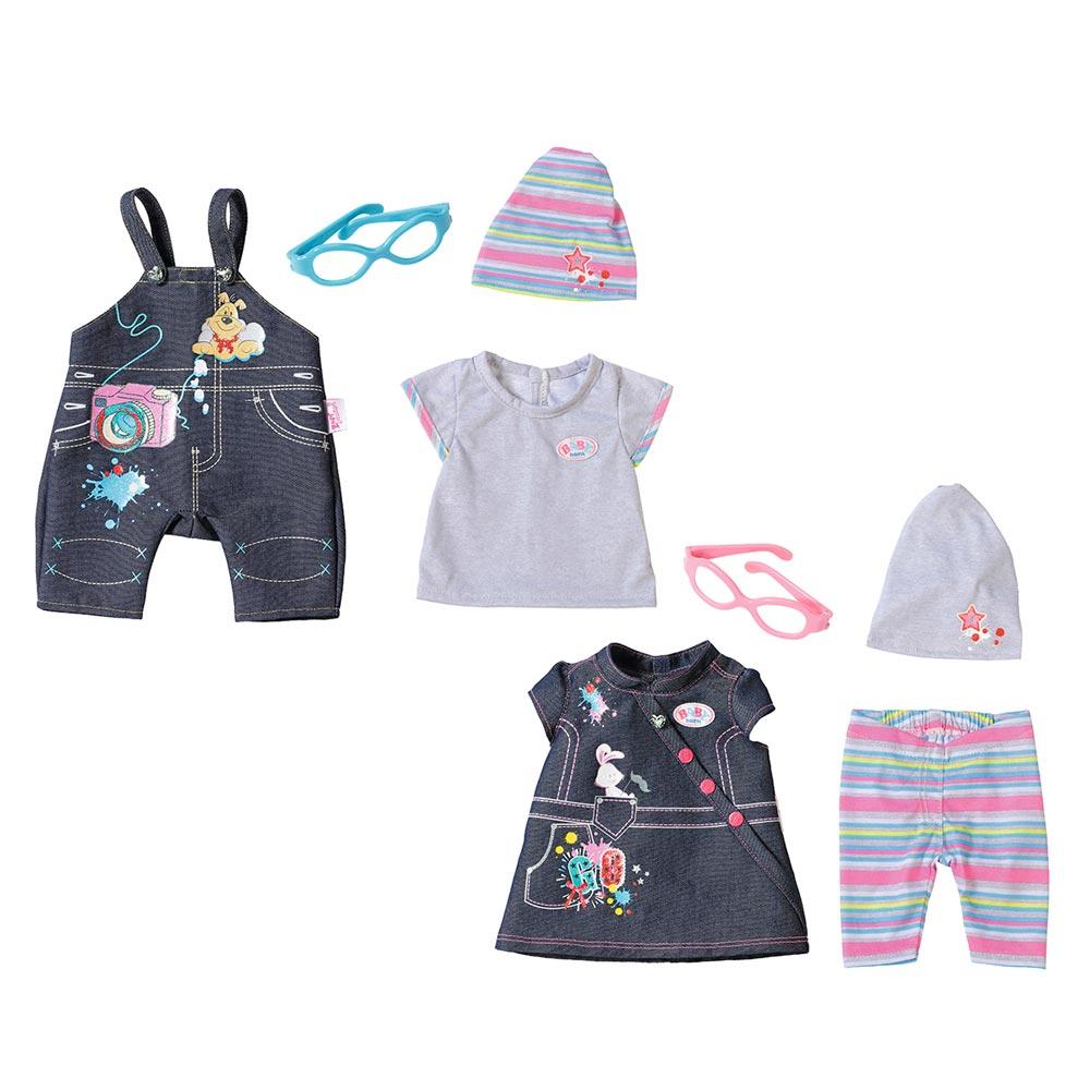 6b5ef816198c0a Одяг та аксесуари для пупсів - Набір одягу для ляльки Джинсовий Baby Born 2  види в