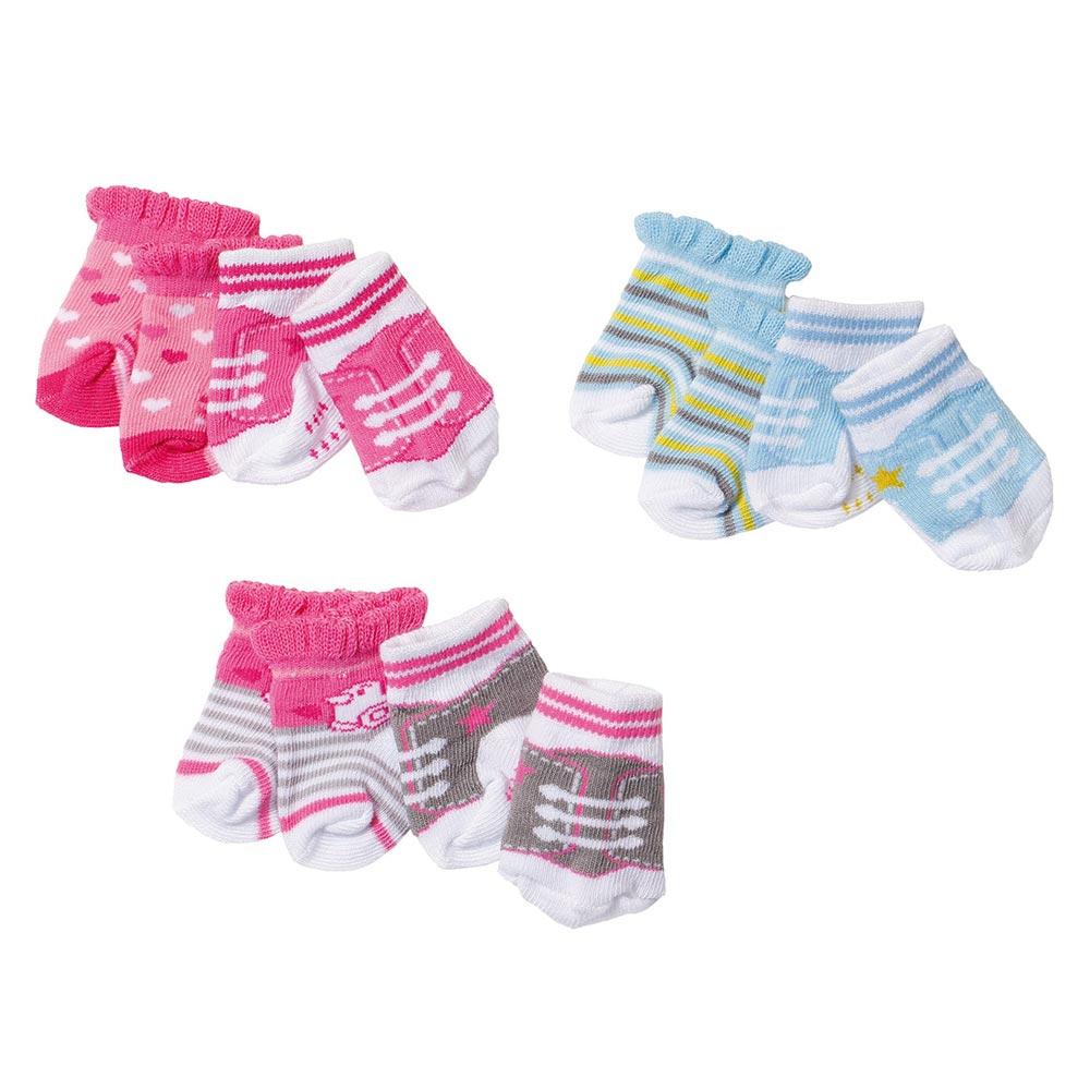 Одяг та аксесуари для пупсів - Шкарпетки для ляльки Baby Born 2 пари 3 види  в 8a02750d53c83