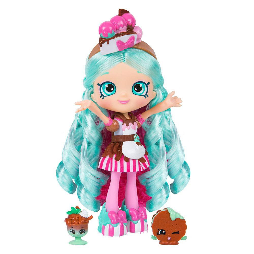 Купить Куклы, наборы для кукол, Кукла Шеф-клуб Shopkins Shoppies Минди Минто с аксессуарами (56300)