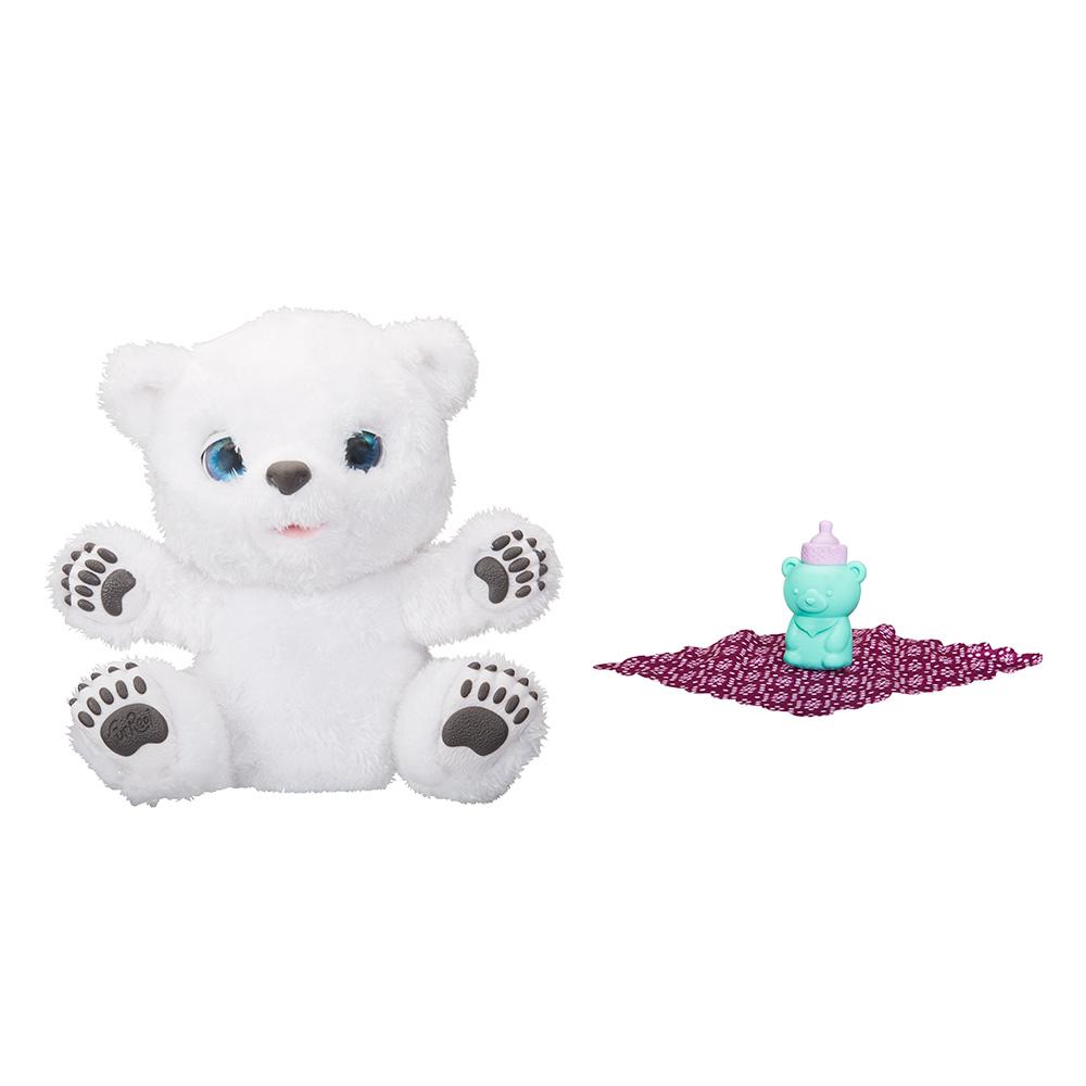 Интерактивные мягкие животные - Мягкая интерактивная игрушка Мишка FurReal  Friends с аксессуарами (B9073) de17d15126fd8