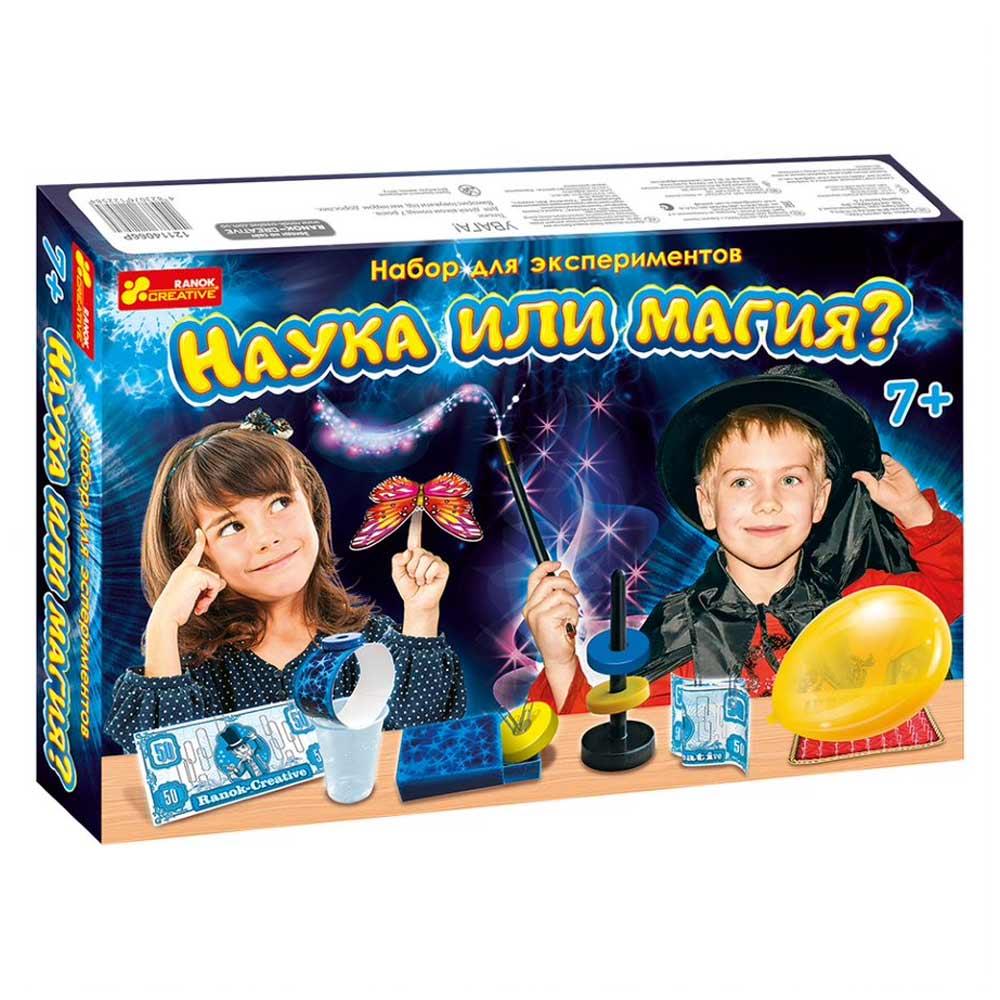 Купить Игровые наборы, Набор для экспериментов Наука или магия Ranok (12114066Р), Ranok Creative